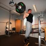 Axel vertikalhopp 100 kg